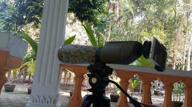 Spotting scope, adapter universal dan xiaomi redminote 4